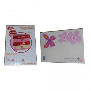 Pochette stickers Papillon VICTOIRE