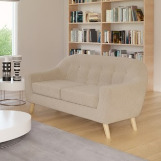 Canapé 2 places SUVI / Beige