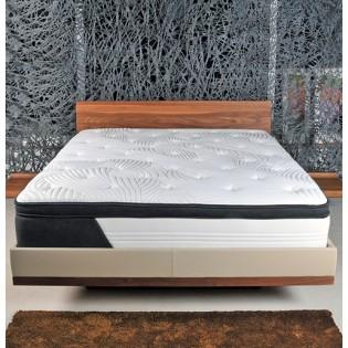 Matelas CASSIE 140x190 cm ressorts et mémoire de forme