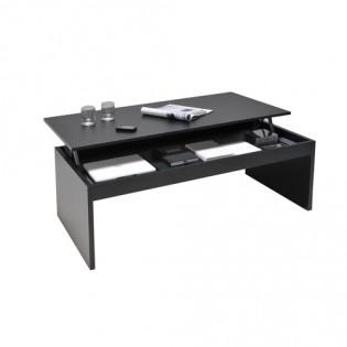 Table basse DARWIN 100x50cm / Noir