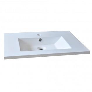 Plan de toilette GLAM 60cm / Blanc