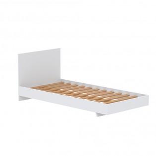 Lit LOFT 90x190 cm + sommier / Blanc