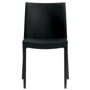 Chaise LONDON empilable / Anthracite