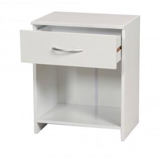 Chevet 1 tiroir OHIO / Blanc