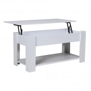 Table basse UTAH 100x50cm / Blanc