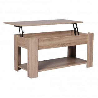 Table basse UTAH 100x50cm / Chêne blanchi