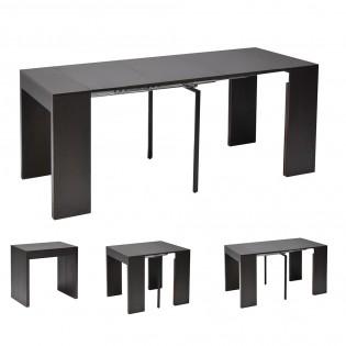 Table extensible NOVA 45-90-135-180cm / Wengé