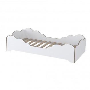 Lit FLOCON 70x140 cm + sommier /Blanc