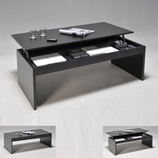 Table basse DARWIN 120x60cm / Noir