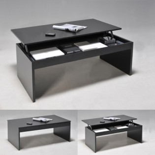 Table basse DARWIN 100x50cm / Noir